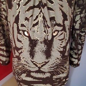 Cache tiger Eye dress